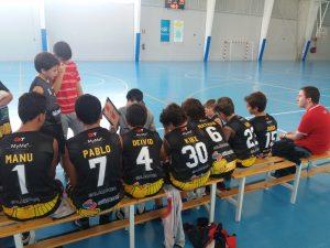El infantil amarillo se estrena en la Liga con un triunfo contundente ante el CB Soria